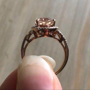 Effy Morganite Ring
